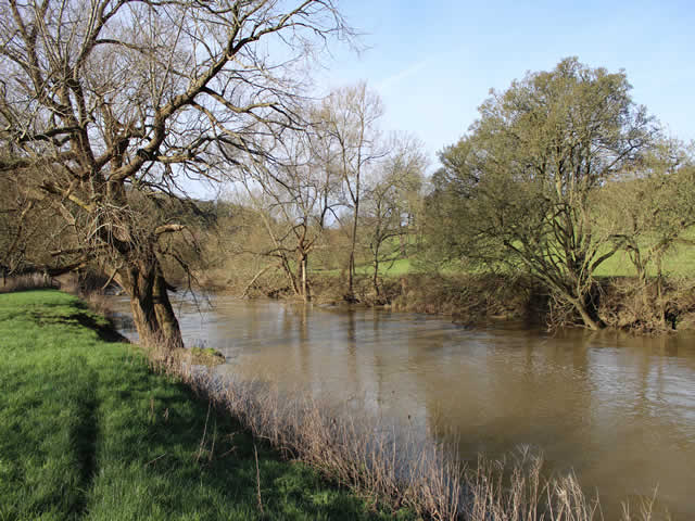 The Manor Field at Claverton River Avon Bathampton Angling Association