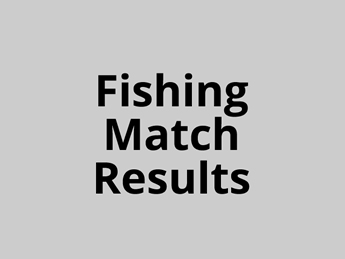Fishing Match Results